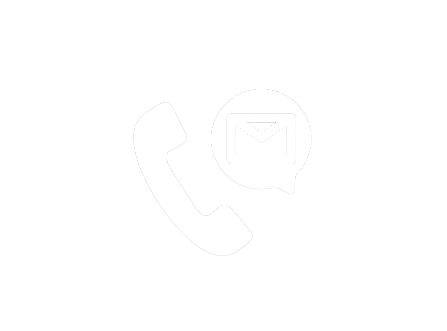Icon of phone and email