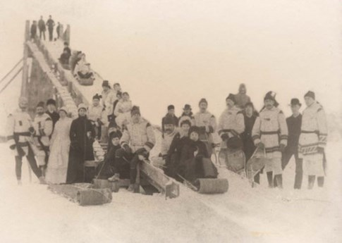 Winter Sledders, date unknown